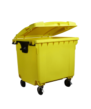 1100L Clinical Waste Bin