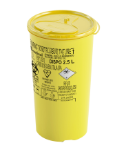 2.5 Litre Disposable Sharps Container