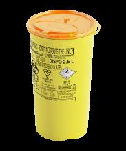 2.5 Litre Non-Medicinal Sharps Container