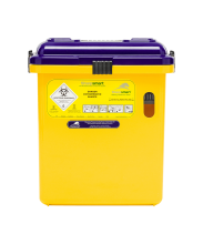 S22 Cytotoxic Sharps Container