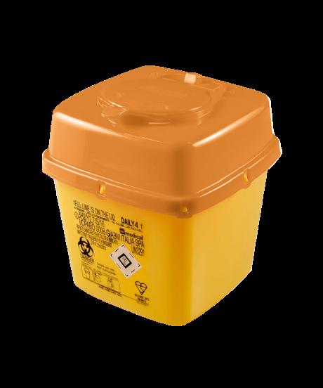 4 Litre Disposable Non-Medicinal Sharps Container