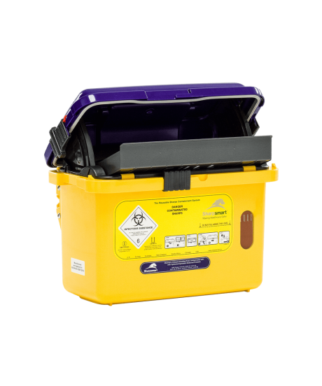 S14 Cytotoxic Sharps Container