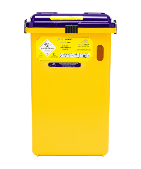 S32 Access Plus Cytotoxic Sharps Container